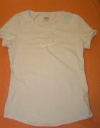 Biała sportowa bluzka t shirt NIKE FIT DRY...
