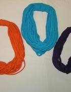 Bawełniane naszyjniki ręcznie robione DIY