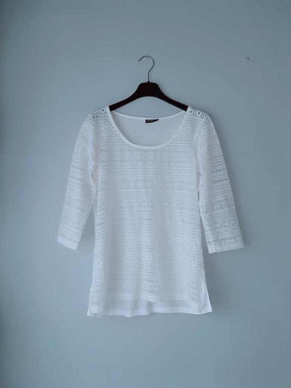 Biała bluzka M