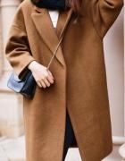 Ciepły dlugi płaszcz oversize kolory rozmiary