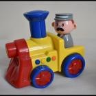 Smiki zabawki jeżdżące i grające zestaw 3 sztuk pojazdy
