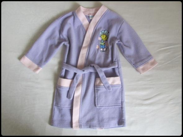 Piżamki Szlafrok dla dziewczynki na ok 3 latka