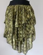 złota spódnica na gumce...