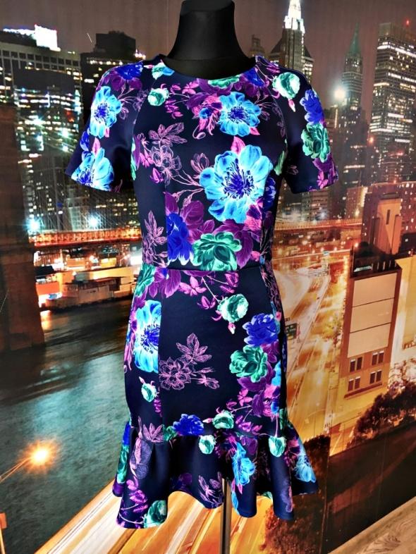 asoso sukienka modny wzór kwiaty floral hit blog 38 M...