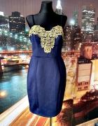 lipsy london sukienka ołówkowa gipiura wyjściowa nowa hit 42...