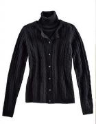 BODY FLIRT czarny BLIŹNIAK sweter i top golf 34...
