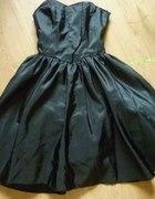 C&A Czarna sukienka w stylu lat 50 60 roz XS