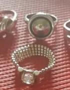 pierścionki srebro 925