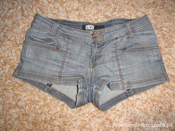 Spodenki spodenki jeans krótkie