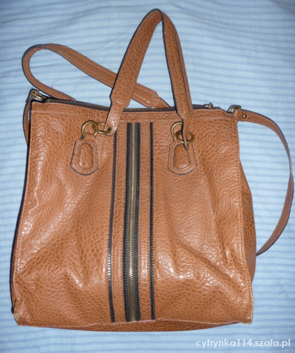Skórzana torebka z USA