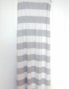Długa sukienka maxi Esmara L 40 biała szara pasy paski biało sz...