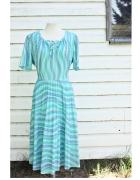 Sukienka Vintage turkus...