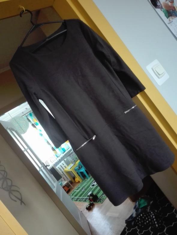 Ciemnoszara sukienka F&F...