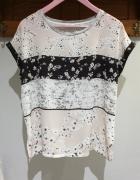 Zara Collection bluzka w kwiatowy wzór r M...