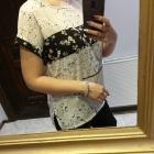 Zara Collection bluzka w kwiatowy wzór r M