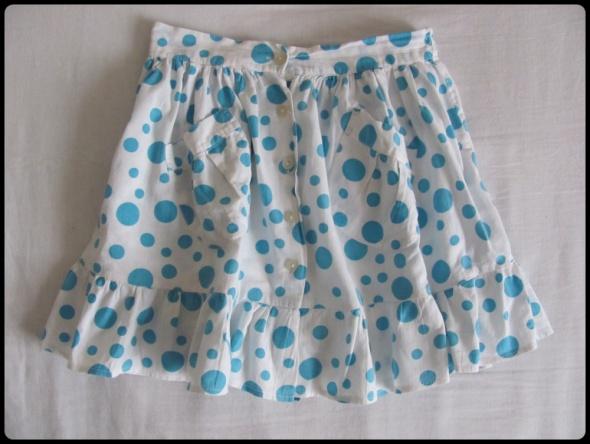 Sukienki i spódniczki Spódniczka w grochy dla dziewczynki rozmiar ok 140