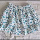 Spódniczka w grochy dla dziewczynki rozmiar ok 140
