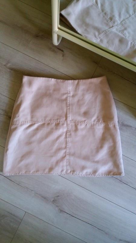 Spódnice pudrowa spódniczka top shop