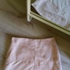 pudrowa spódniczka top shop