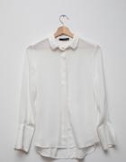 MANGO biała ecru lejąca koszula elegancka piękna...