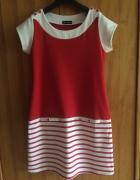 Sukienka w marynarskim stylu...