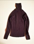 LINDEX Sweterek damski bawełniany z golfem 38 40...