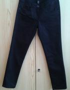 Czarne spodnie H&M 34 XS