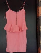 letnia różowa baskinka