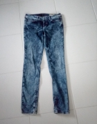 Spodnie jeansowe damskie skinny