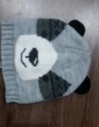 Czapka szara Panda 98...