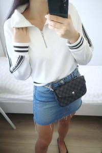 Bench Oryginalna Bluza damska biała 40 L...