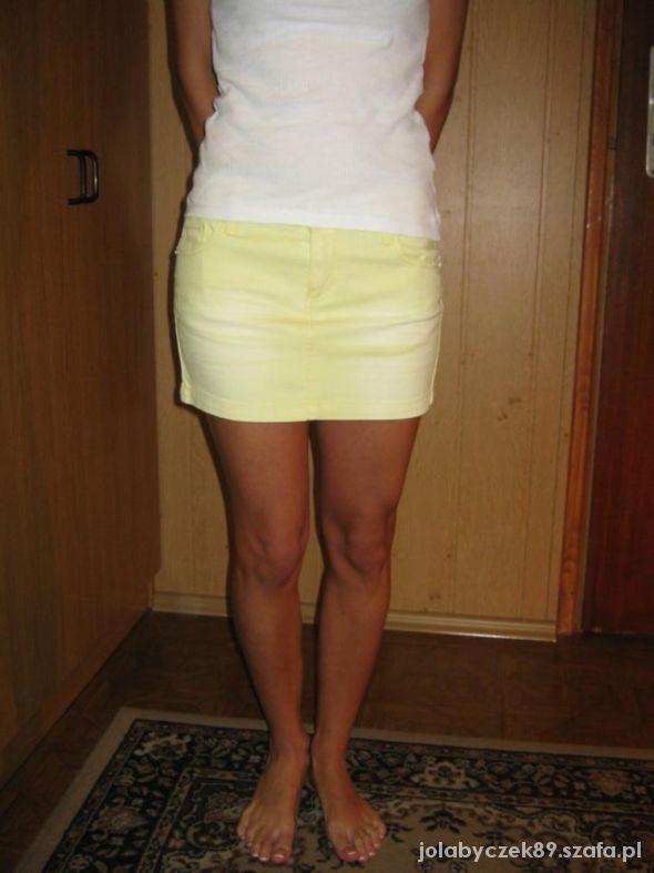 Spódniczka Jeans MINI Reserved roz 34