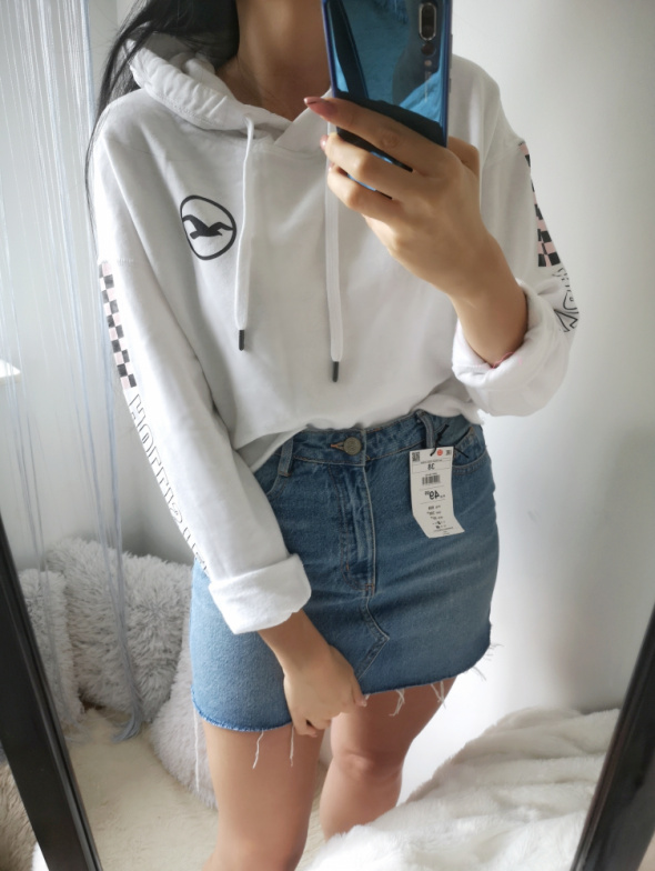 Hollister Oryginalna Bluza damska biała M...