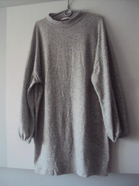 sweterkowa sukienka ZARA