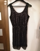 Nowa sukienka z cekinami Vero Moda sylwester impreza wesele...