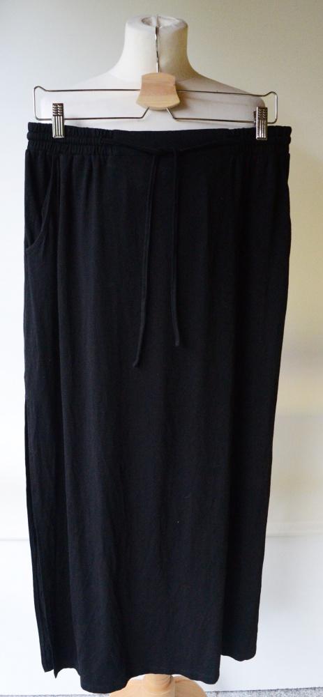 Spódnice Spódniczka Long Maxi Czarna M 38 KappAhl NOWA
