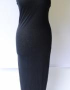Sukienka NOWA Czarna Cubus Long Długa M 38 Maxi...