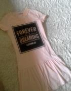 Nowa sukienka falbanka