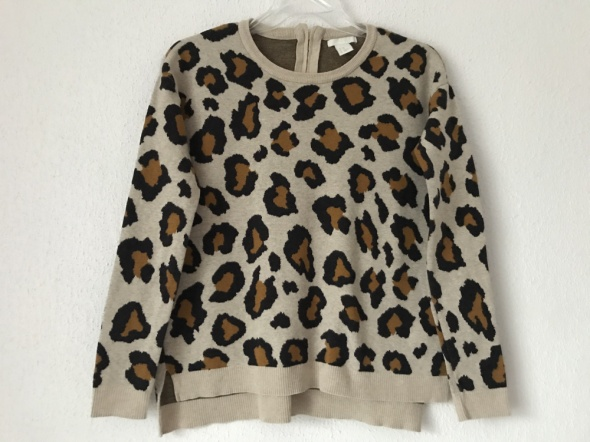 Swetry sweterek panterka H&M XS S M