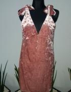 Sukienka tunika welurowa...