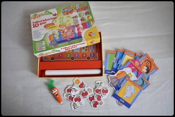 Zabawki CAROTINA LABORATORIUM 10 GIER