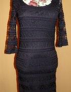 Nowa koronkowa sukienka new yorker 34 xs...