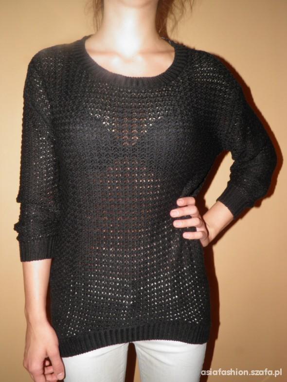 Oversize sweter ażurowy Vero Moda 34 xs