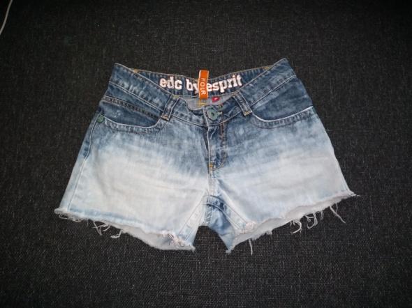 Spodenki Krótkie spodenki jeansowe S szczępione