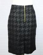 modna spódniczka w dużą pepitkę...