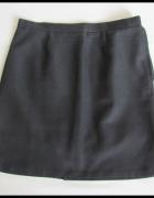 Klasyczna spódnica czarna gładka prosta 42 XL stan idealny...