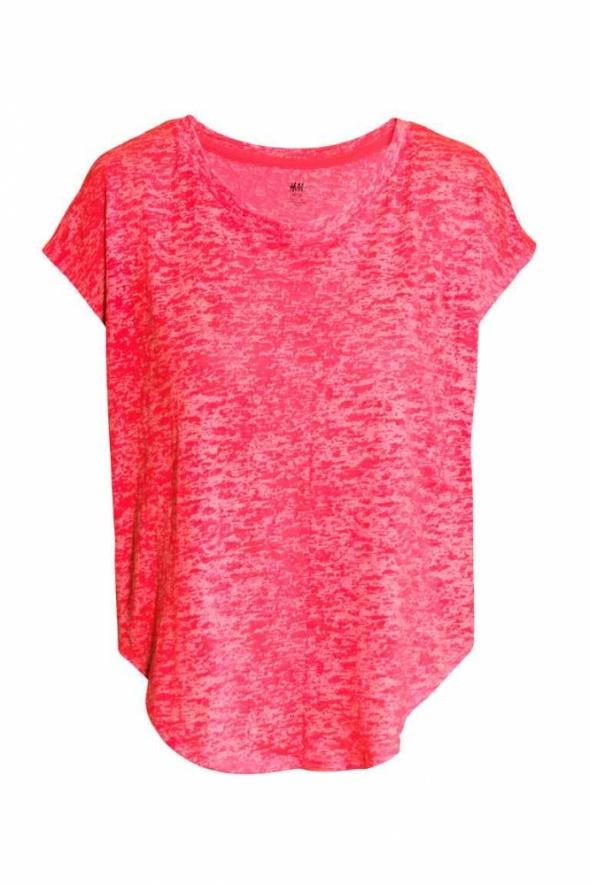 Koszulka na fitness H&M rozmiar S