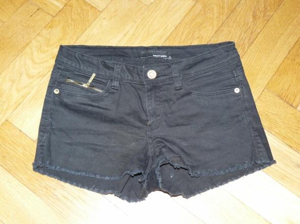 Spodenki Czarne spodenki jeansowe Tally Weijl 34