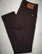 CELLBES śliwkowe spodnie jeansy damskie roz 36...