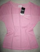 NEXT różowa letnia damska bluzka roz 34...